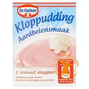 Dr Oetker Kloppudding Aardbei
