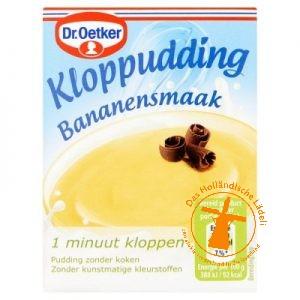 Dr Oetker Kloppudding Banaan