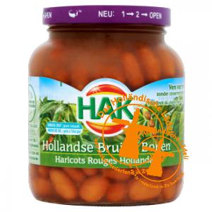 Hak Bruine Bonen, 370 ml