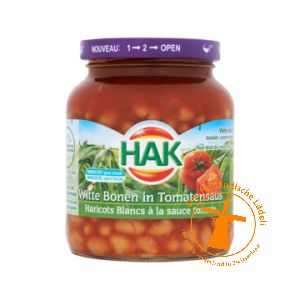 Hak Witte Bonen in Tomatensaus, 370 ml