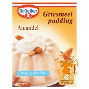 Dr. Oetker Griesmeelamandel Pudding
