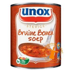 Unox Bruine Bonensoep, 0,8 liter