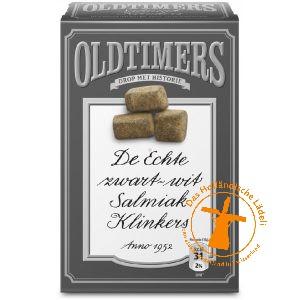 Oldtimers zwart-wit Salmiak Klinkers