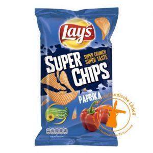 lays super chips ribbel paprika