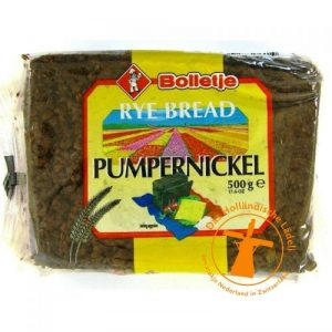 Bolletje pumpernickel fase 2 vierkant