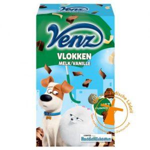 venz huisdiergeheimen vlokken melk vanille
