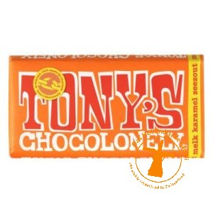 tony chocolonely melk caramel zeezout