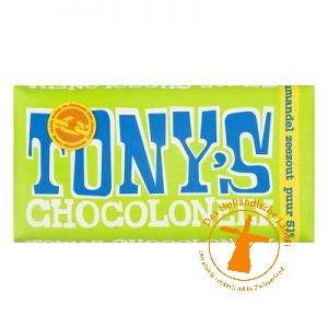 tony chocolonely puur amandel zeezout
